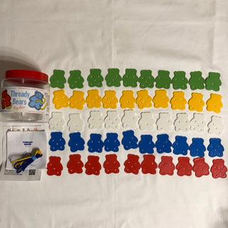 未使用 くまのひも通し イギリス  アンソニーペーター社 知育玩具