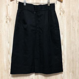 スーツスカート 黒