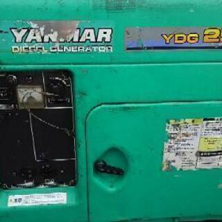 ヤンマー ディーゼル発電機 2.5k