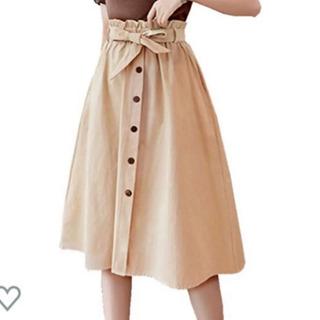 ベージュ 新品スカート