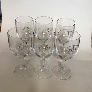ワイングラス6個 中古