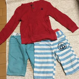 120センチ子ども服とパジャマ