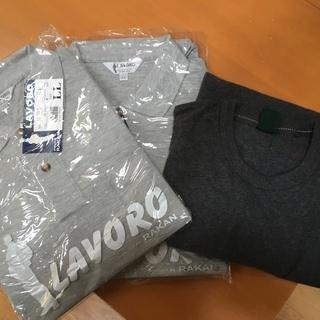 ポロシャツ(長袖) 2枚 と アンダーシャツ(長袖) 1枚 差し...