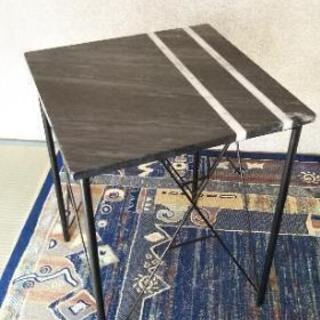大理石テーブル 2台セット 中古品