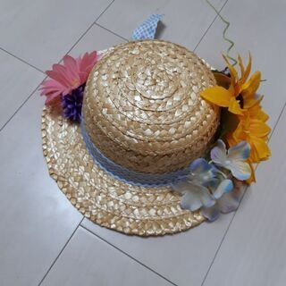 麦わら帽子①