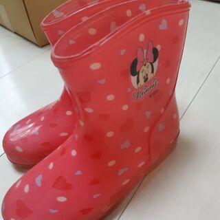 ミニーちゃん長靴17センチ