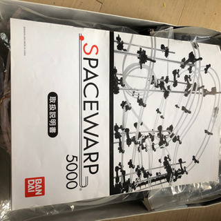 BANDAI SPACEWARP 5000 LEVEL3 外箱・...