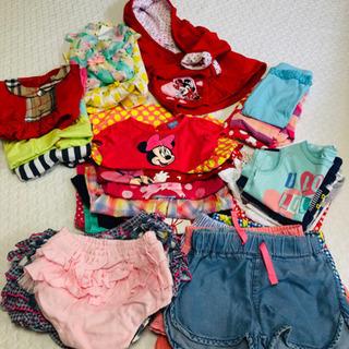6月後半まで‼️【夏物まとめ売り】女の子ブランド服含む 80〜9...