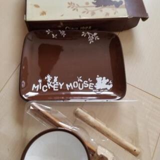ディズニー  ミッキーマウス とんかつセット