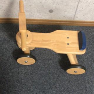 ボーネルンド 木製三輪車 - 瀬戸内市