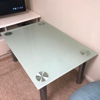 ガラステーブル ローテーブル ガラスローテーブル