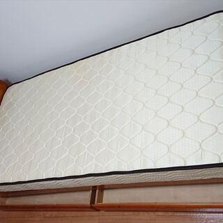 シングルベッド 収納引き出し ベッドライト付