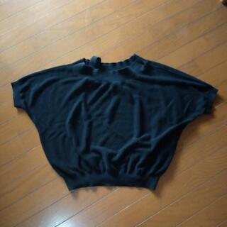 サマーセーター 黒
