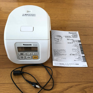 Panasonic 電子ジャー炊飯器 SR-MLK051