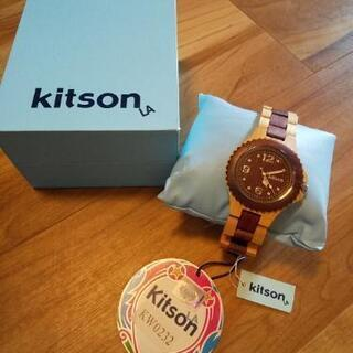 kitson  wood腕時計 未使用品