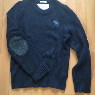 アバクロ セーター 紺 ネイビー S