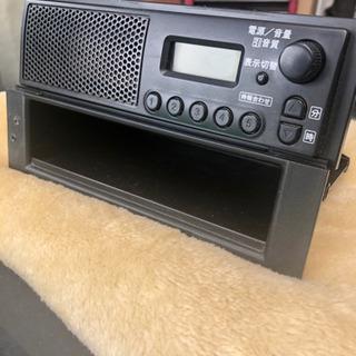 軽トラ 純正スピーカー付きラジオ キャリー