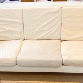 「カントリー家具 キャンドール」 3人掛けソファー