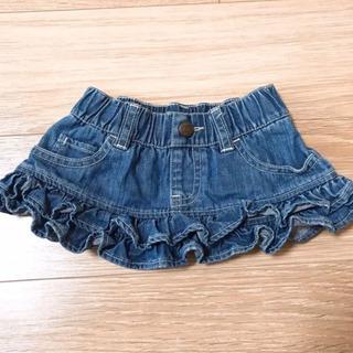 70cm ベビーギャップのデニムスカート