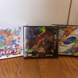 DS,3DSカセット 3つ