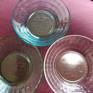 ピングーガラス皿8set、ハンドミキサー、その他食器