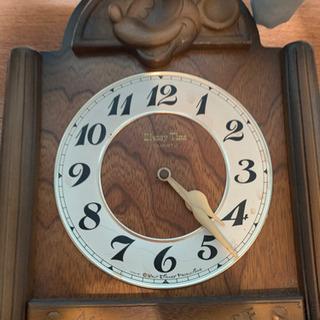 【ジャンク】ディズニー ミッキー振り子時計