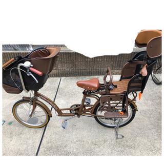 (取引終了)子供乗せ自転車 20インチの画像