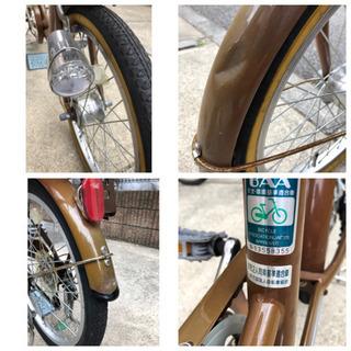 (取引終了)子供乗せ自転車 20インチ - 大和市