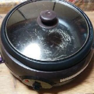 電気グリル鍋 AGN-30G-T(アビテラックス製)