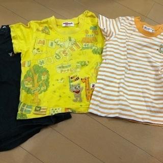 ミキハウス Tシャツ 80 3枚②