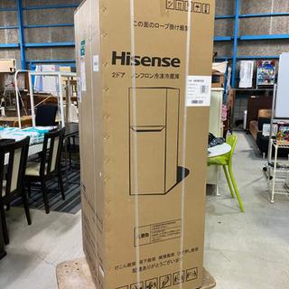 未開封品!5月購入!配送可!Hisense 2ドア ノンフロン冷...