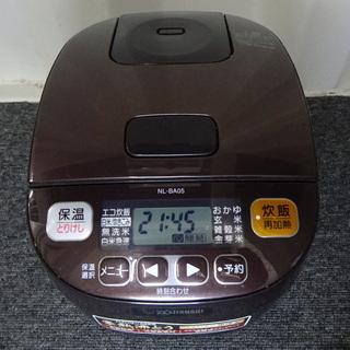 象印 炊飯器 3合 NL-BA05-TA 2016年製