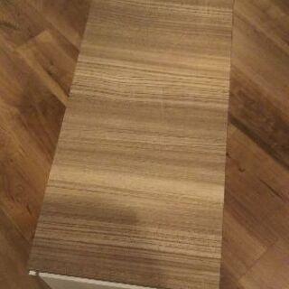 【未使用】台所吊り戸棚 1個 おしゃれな木目調