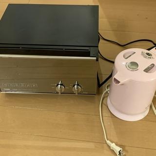トースター&電気ポット 正常稼働