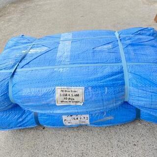ブルーシート薄手タイプ Pシート 5.4×7.2m