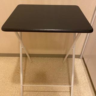 折りたたみハイテーブル