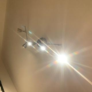 天井照明 ペンダントライト スポットライト (IKEA)