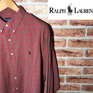 90s Ralph Lauren ラルフローレン BDシャツ チ...