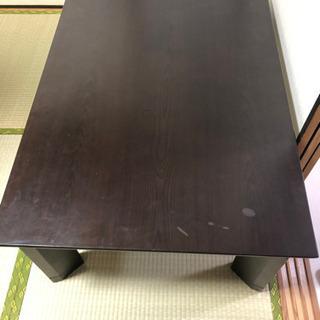 長方形のコタツテーブル差し上げます。