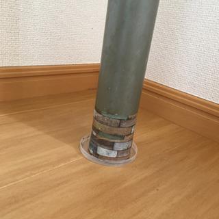 カウンターテーブル 折り畳みイス2脚付き − 愛媛県