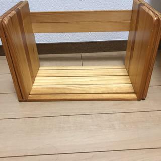 木製ブックスタンド