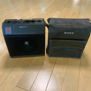 ソニーTCM-1390  ポータブルカセットレコーダー ジャンク品