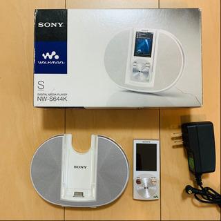 SONY ウォークマン NW-S644K  8GB
