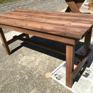 木製ベンチ ガーデニングやカントリーデザイン