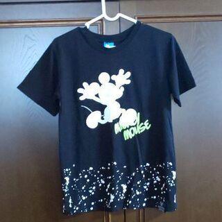 ミッキー黒Tシャツ