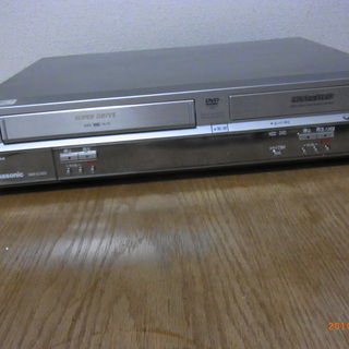 80GB HDD/DVDレコーダー VHSビデオ一体型