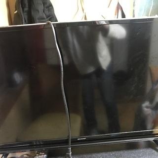 画面が壊れたテレビ ジャンク品です
