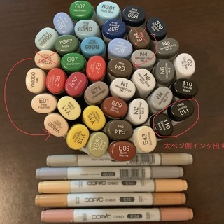 コピック マーカー Copic sketch  Copic ci...