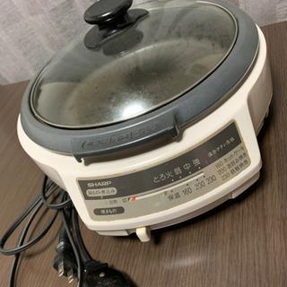 電気コンロ、鍋セット