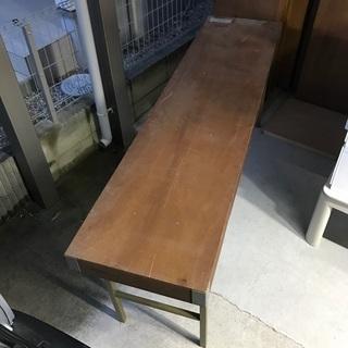 13 折りたたみ作業台 (長さ180cm 幅45cm 高さ70cm)